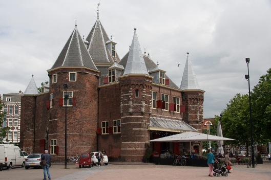 The Waag (weigh-house), in Nieuwmarkt square.